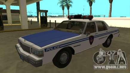 Chevrolet Caprice 1987 Policía de Tránsito de Nueva York para GTA San Andreas