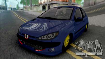 Peugeot 206 by ErFan para GTA San Andreas