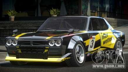 1977 Nissan Skyline KGC10 GT L10 para GTA 4