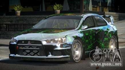 Mitsubishi Lancer Evo-X SP-G PJ3 para GTA 4