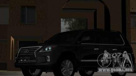 New Lexus LX570 para GTA San Andreas