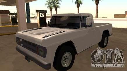 Dodge D-100 1968 MI para GTA San Andreas