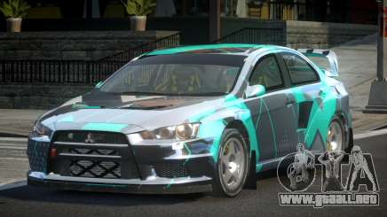 Mitsubishi Lancer Evo-X SP-G PJ4 para GTA 4