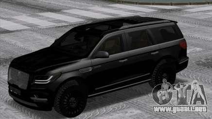 Lincoln Navigator Black Edition para GTA San Andreas