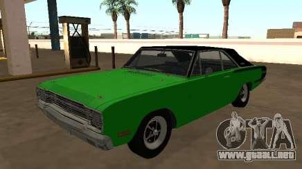 Dodge Charger RT Brasileño 1971 para GTA San Andreas