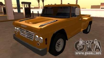 Dodge D500 1965 Paso a paso para GTA San Andreas