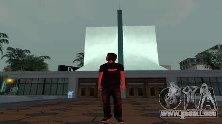 Piel de administrador de MGCRP para GTA San Andreas