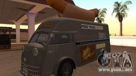 Time Matador 1952 HotDog Van para GTA San Andreas