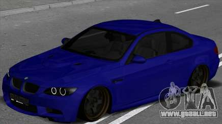 BMW M3 E92 Low para GTA San Andreas