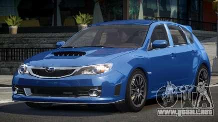Subaru Impreza STI SP-R para GTA 4