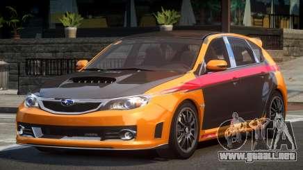 Subaru Impreza STI SP-R L1 para GTA 4