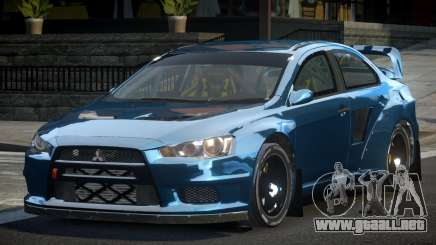 Mitsubishi Lancer Evo-X SP-G para GTA 4