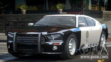Bravado Buffalo LSPD Police Cruiser para GTA 4