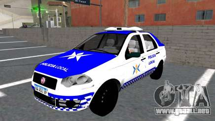 Policía de Fiat Siena para GTA San Andreas
