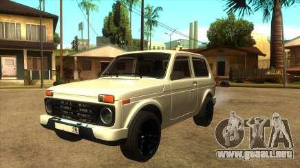 LADA URBAN 78RUS para GTA San Andreas