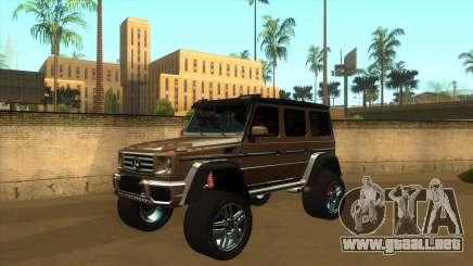 MERCEDES G500 4x4 para GTA San Andreas