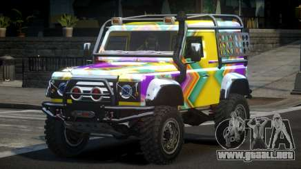 Land Rover Defender Off-Road PJ8 para GTA 4