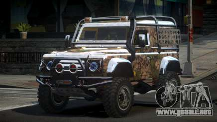 Land Rover Defender Off-Road PJ9 para GTA 4