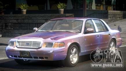 Ford Crown Victoria GST L2 para GTA 4