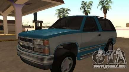 1998 Chevrolet Blazer K5 v2 para GTA San Andreas