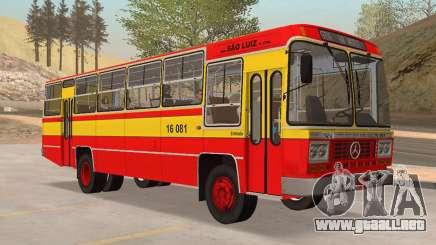 Autobús Caio Gabriela II MBB LPO-1113 1979 para GTA San Andreas