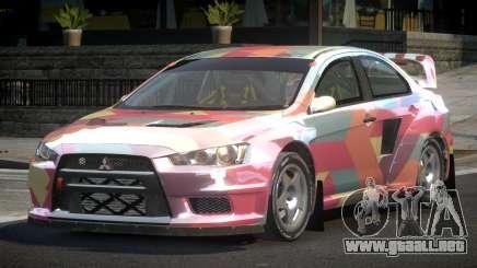 Mitsubishi Lancer Evo-X SP-G PJ7 para GTA 4