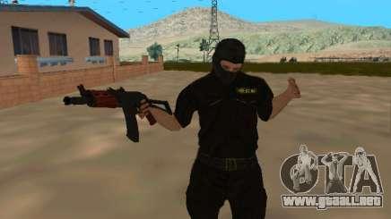 Piel del FSB en una máscara para GTA San Andreas