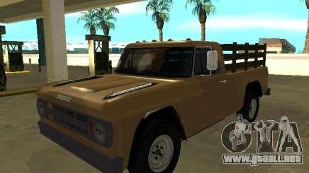 Dodge D100 1968 para GTA San Andreas
