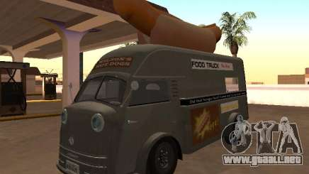 Time Matador 1952 Hotdog Van - Edición para GTA San Andreas