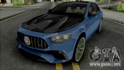 Mercedes-AMG E63s 2021 para GTA San Andreas
