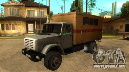 ZIL 4331 TTU para GTA San Andreas
