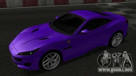 Ferrari Portofino para GTA San Andreas