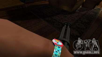Reloj de tiempo de aventura para GTA San Andreas