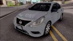 Nissan Versa 2019 Improved para GTA San Andreas