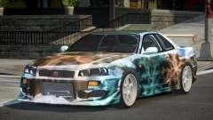Nissan Skyline R34 GT-R PSI PJ2 para GTA 4