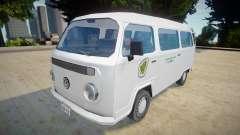 Volkswagen Kombi 2012 - SA Style v2 para GTA San Andreas