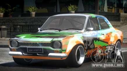 Ford Escort Urban Racing PJ3 para GTA 4