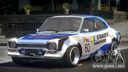 Ford Escort Urban Racing PJ6 para GTA 4