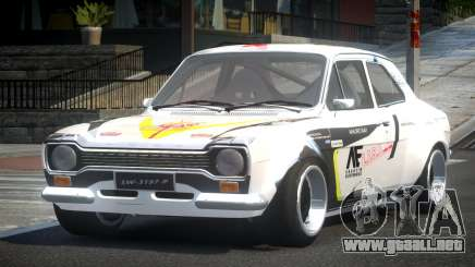 Ford Escort Urban Racing PJ8 para GTA 4