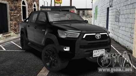 2021 Toyota Hilux Invincible Exclusivo para GTA San Andreas