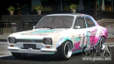 Ford Escort Urban Racing PJ7 para GTA 4