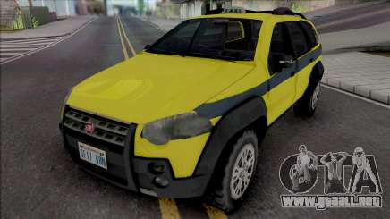 Fiat Palio Weekend Adventure 2013 Taxi RJ para GTA San Andreas