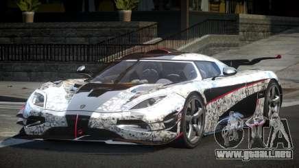 Koenigsegg One GS Sport L9 para GTA 4
