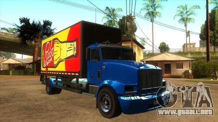 GTA V MTL Flatbed (VehFuncs Style) para GTA San Andreas