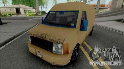 Ballot Van GTA LCS para GTA San Andreas