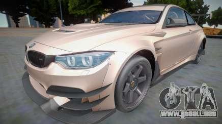 BMW M4 GTS Varis para GTA San Andreas