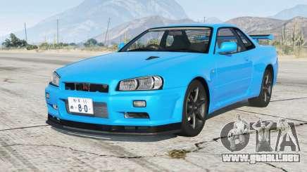 Nissan Skyline GT-R V-spec II (BNR34) 2000〡añadir-on para GTA 5