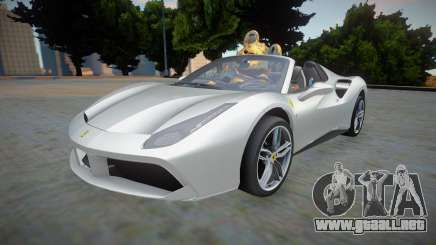 Ferrari 488 Spider 2016 Rodster para GTA San Andreas