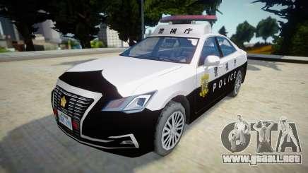 2016 Toyota Crown Patrol Car (210系) para GTA San Andreas