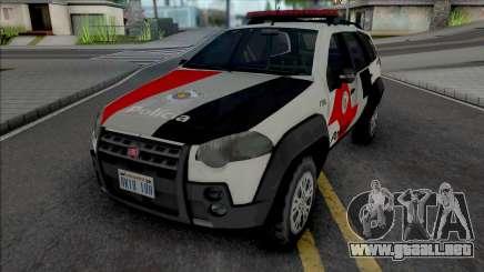 Fiat Palio Weekend Adventure 2013 PMESP para GTA San Andreas